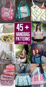 Over 45 great bag patterns to sew!