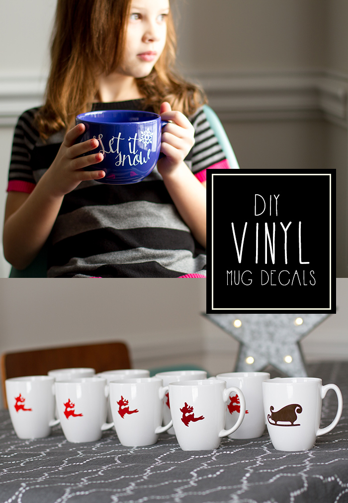 DIY vinyl mug decal tutorials