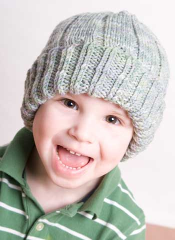 Adorable knit hat pattern
