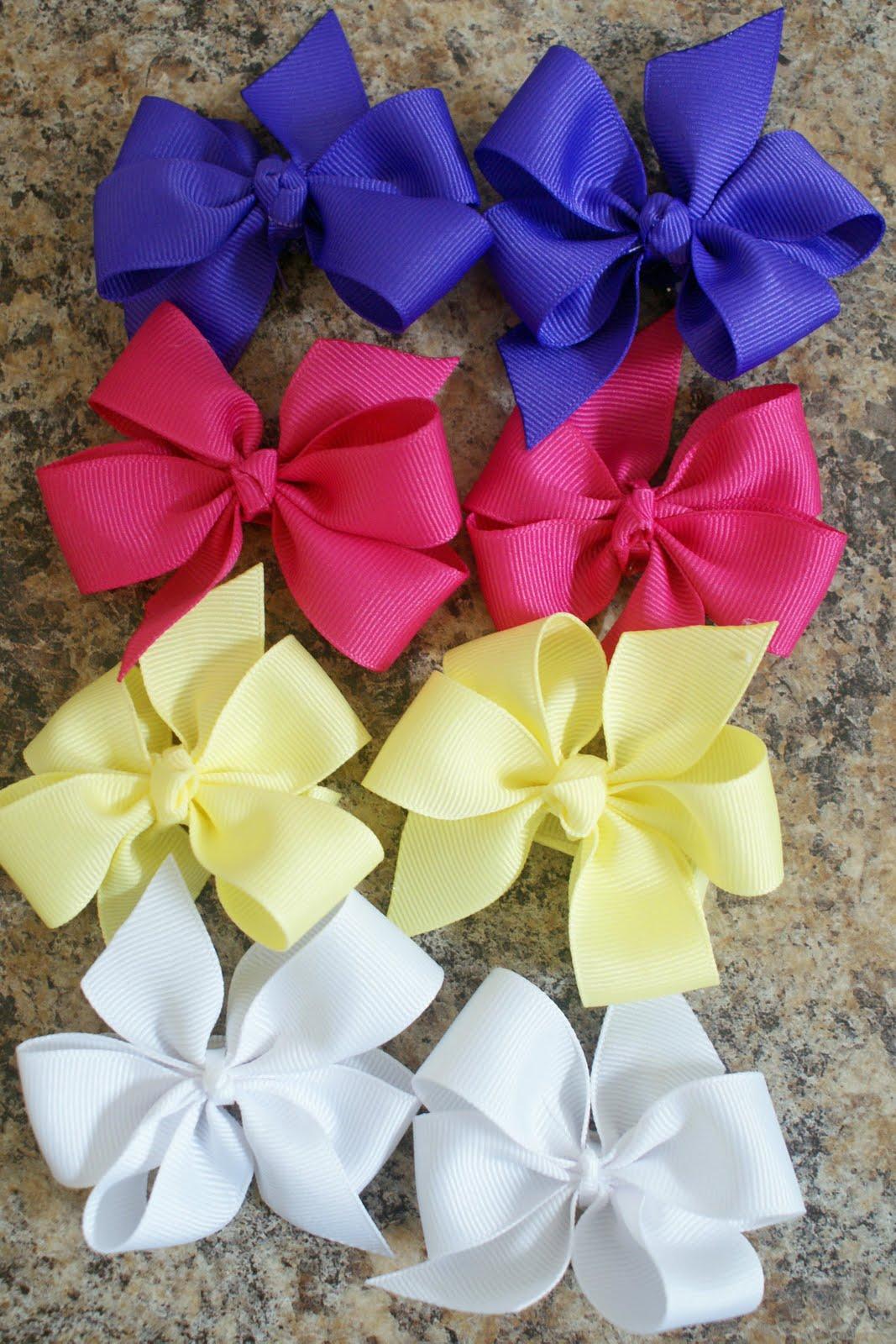 7 ways to make bows!