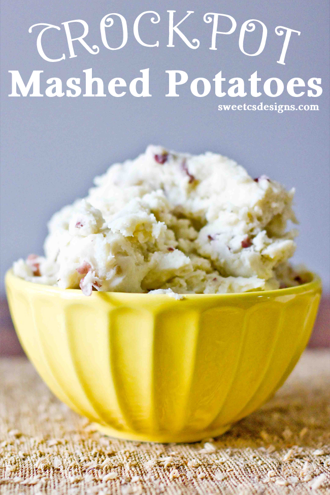 Crock pot potatoes! Delicious!