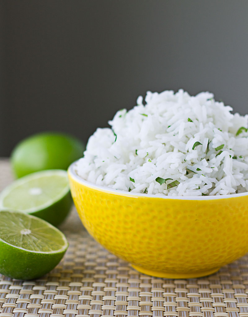 Cilantro Lime Rice - this is really, really good. And simple.