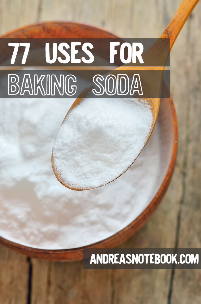 77 uses for baking soda!