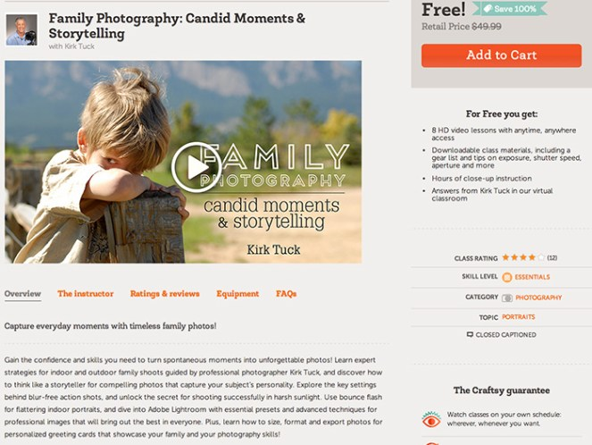 FREE photography class! Click to find out how!