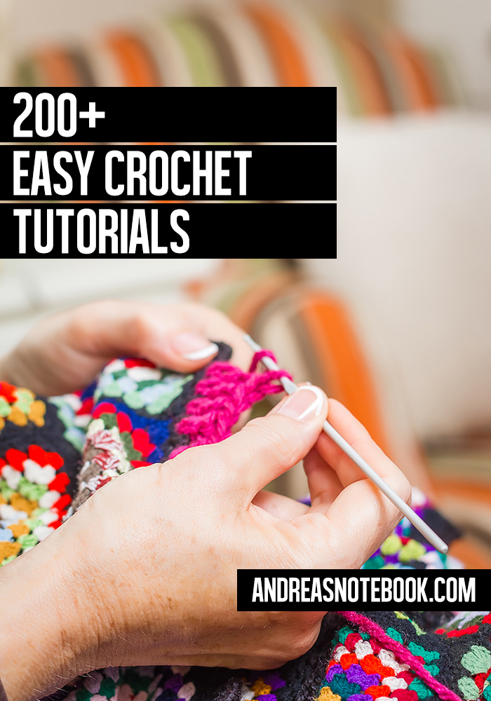 Easy Crochet Tutorials for home, accessories, holidays and more
