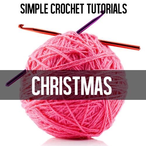 christmas crochet tutorials