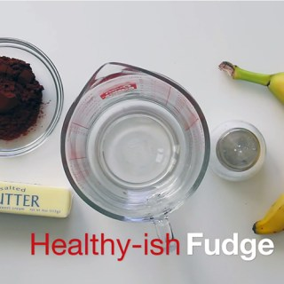 Simple and healthy fudge recipe!