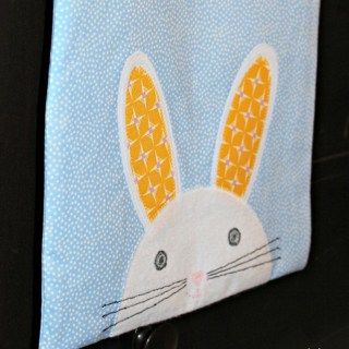 DIY bunny bag tutorial