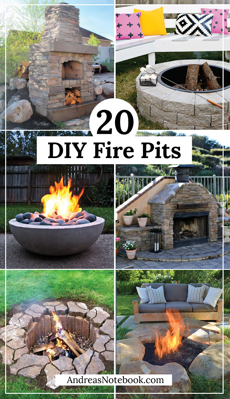 20 Outdoor Fire Pit Tutorials on Diy Outdoor Fire  id=24198