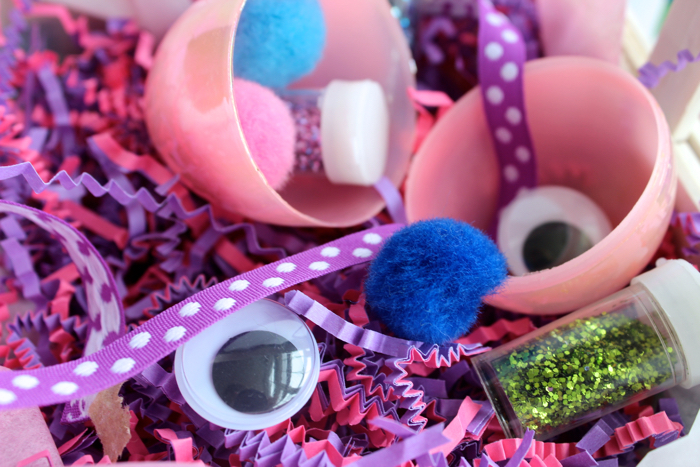 Craft Supplies for Easter Egg Fillers