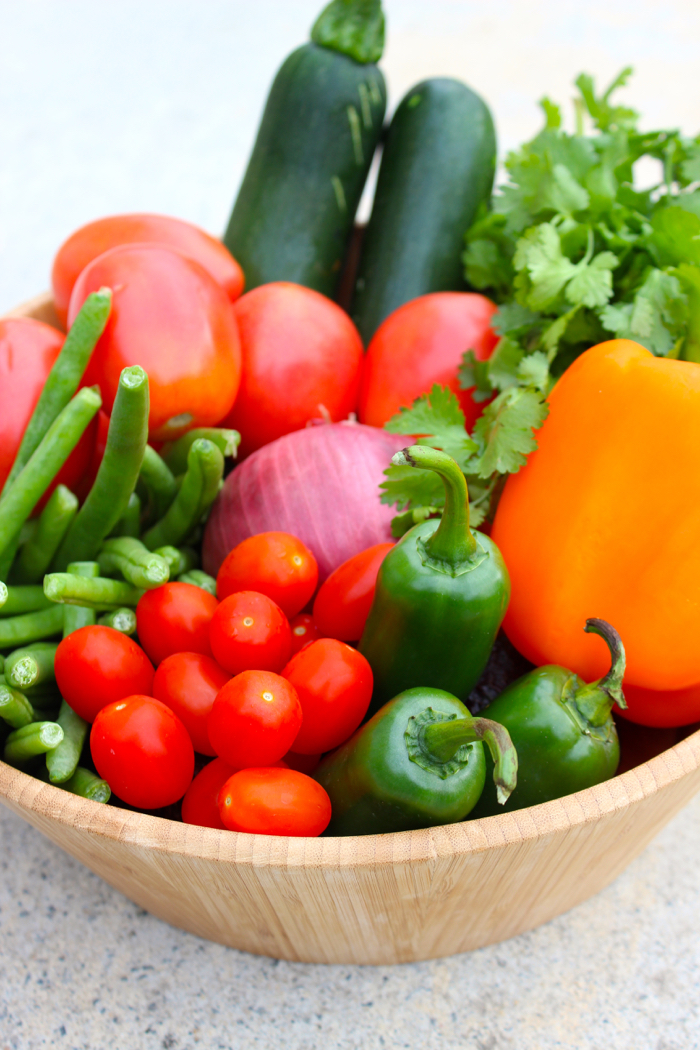 Harvest your square foot garden