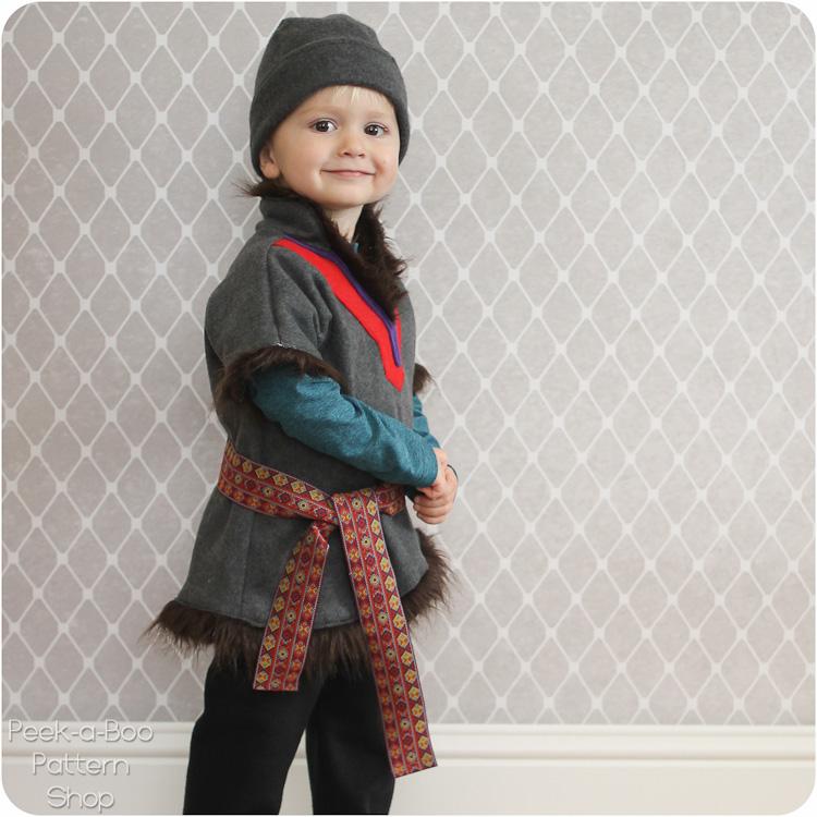 DIY Kristoff Costume Tutorial