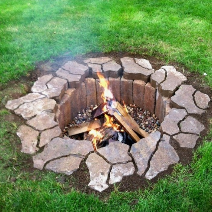 Submerged Fire Pit Tutorial