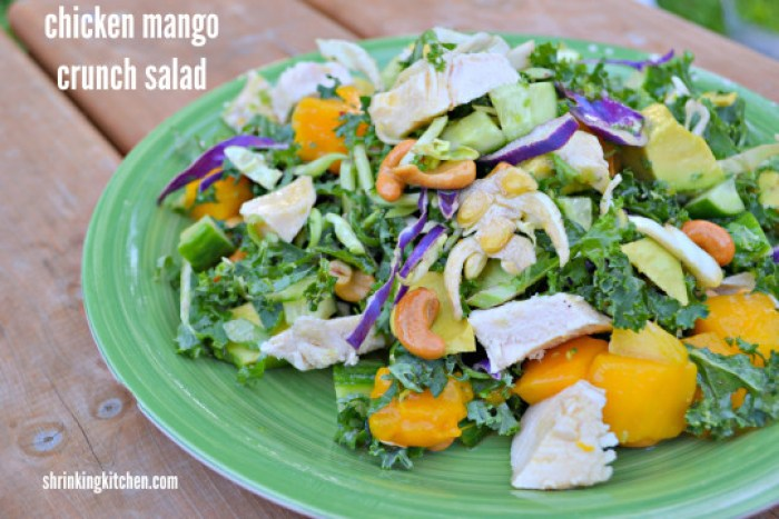 Bright and tangy, this salad could not be easier to put together.