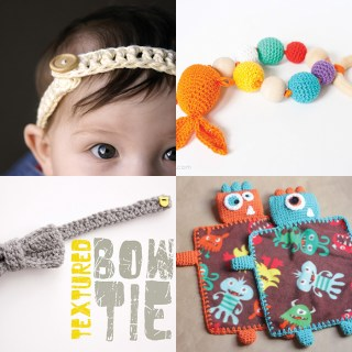 Roundup of fantastic crochet patterns perfect for babies!