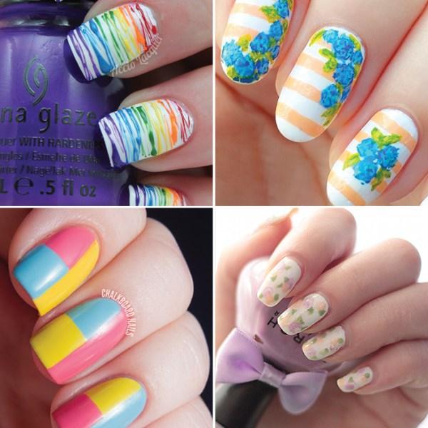 25 spring inspired nail tutorials