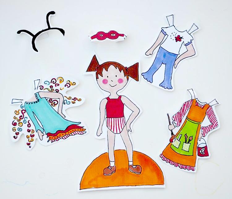 Paper Doll Printable