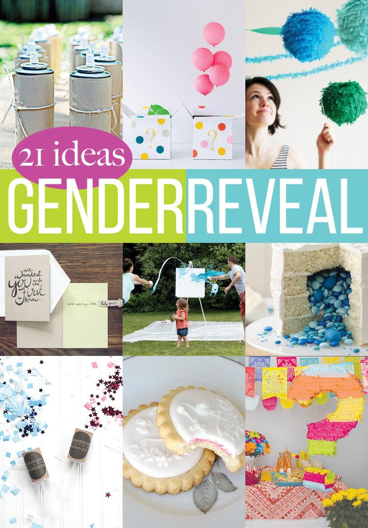 21 Gender Reveal Ideas