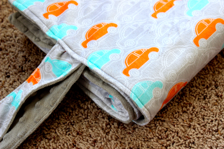 Ties for Roll-Up Baby Blanket