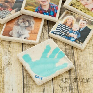 DIY photo coaster tutorial