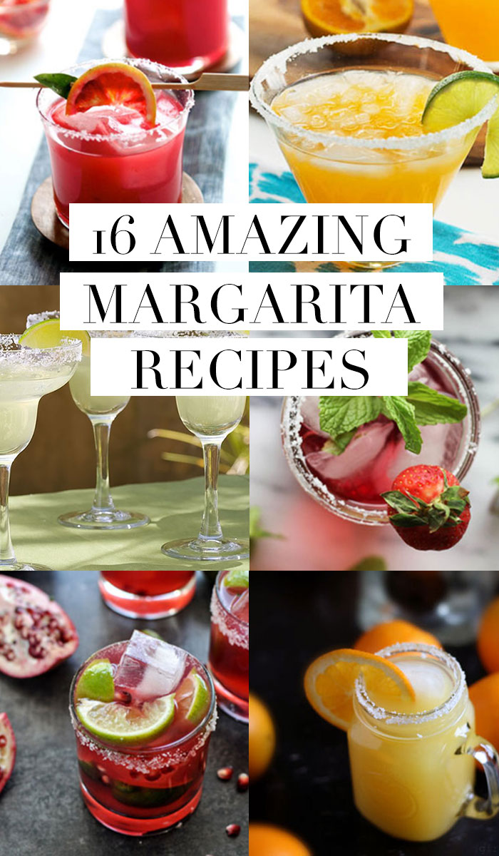 16 amazing margarita recipes