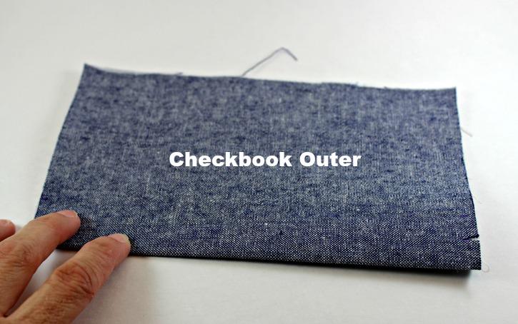 Step 3 Checkbook Cover Tutorial