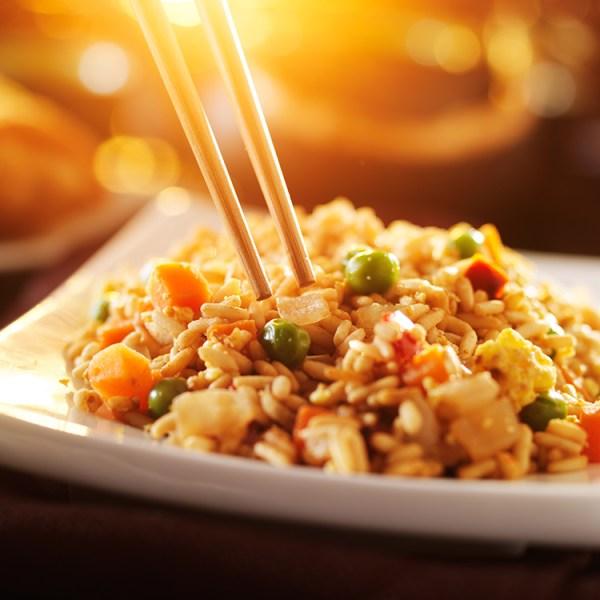 15 minute chicken fried rice recipe! YUM!