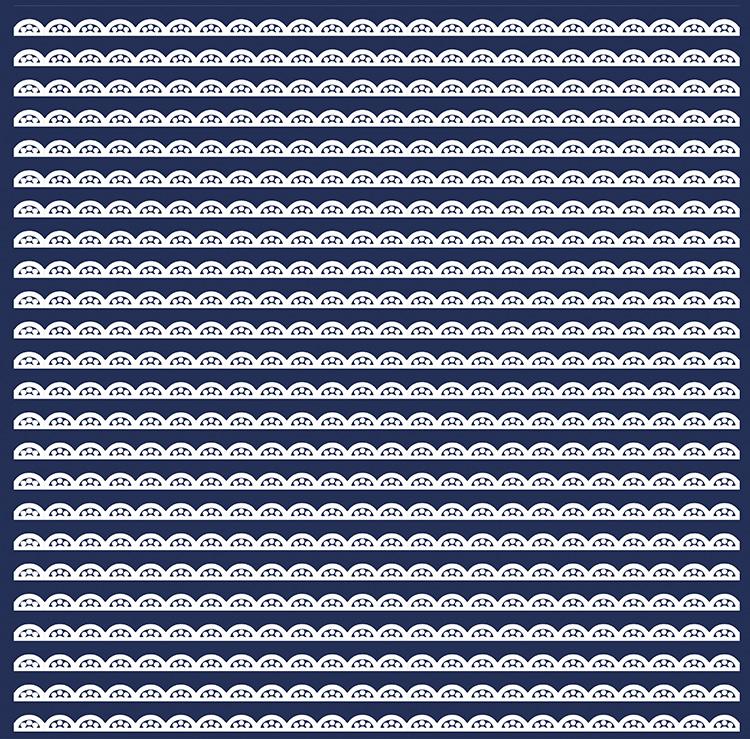 scallop-fabric