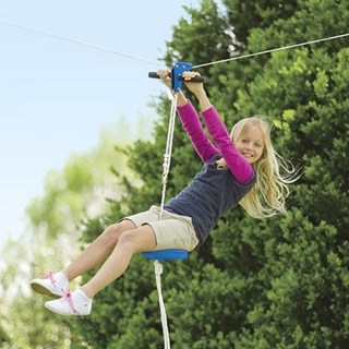 How to make your own backyard zipline