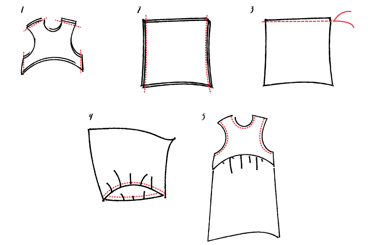 How to sew a float dress