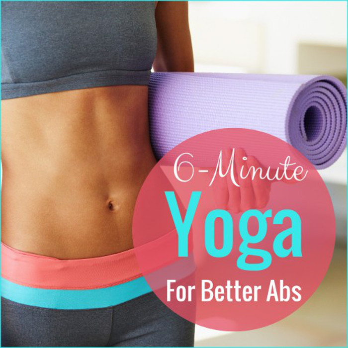 6 minute yoga for strong abs