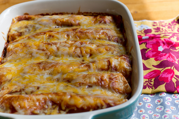 Oh my goodness, these are the BEST enchiladas!