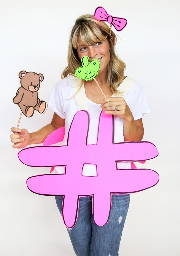 #tbt hashtag costume