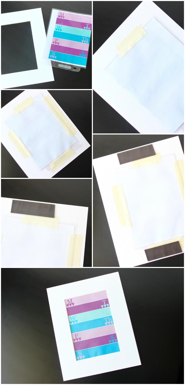 How to make Kitchen Fridge Printables