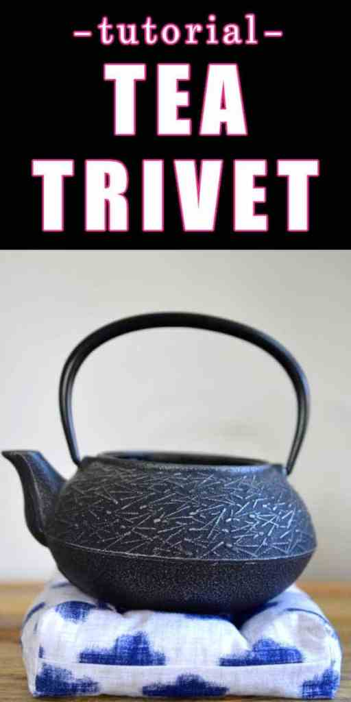tea pot tea trivet