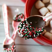 Make your own peppermint candy spoons