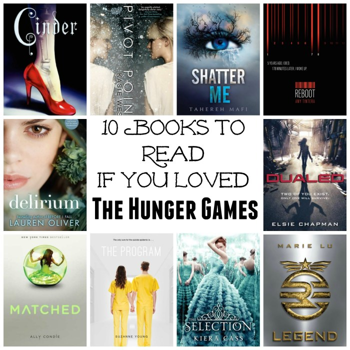 If you loved the Hunger Games you'll want to read these!