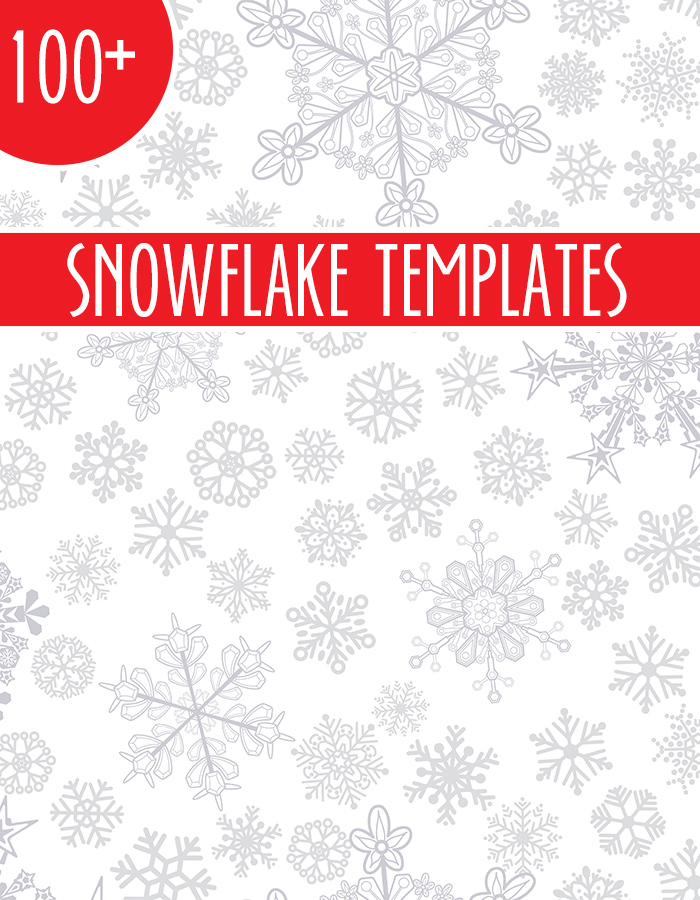 Over 100 snowflake templates
