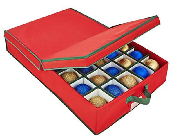 Learn the best ways to store Christmas ornaments!