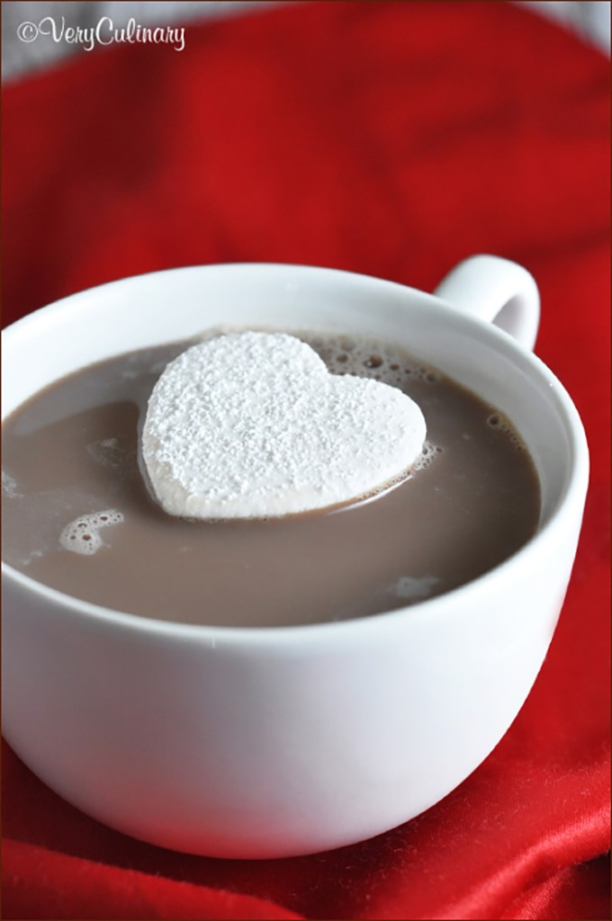 heart shaped marshmallows