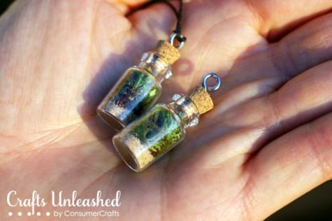 Plant necklaces