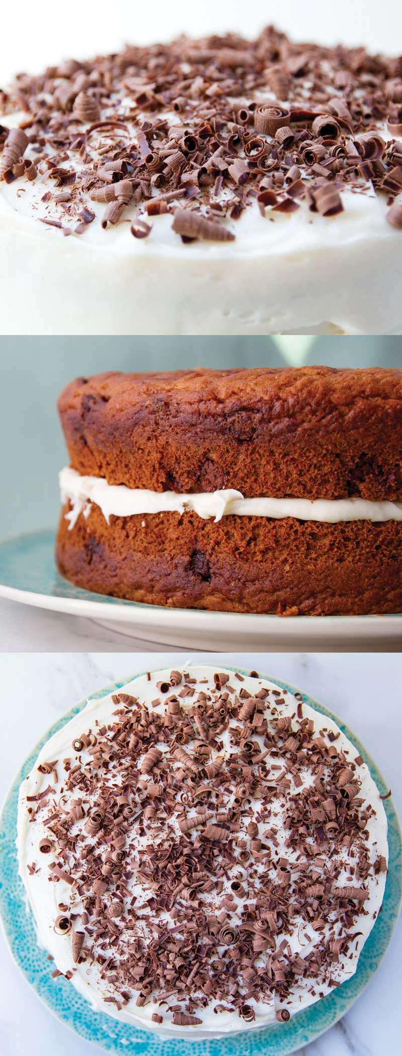 The best pumpkin cake with chocolate chunks recipe - gluten free version also!