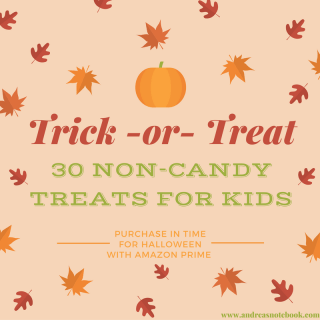 30 non-candy treats for kids!