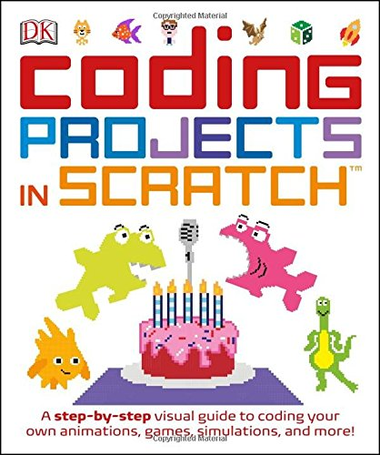 Coding Projects in SCRATCH - great way for kids to learn to code
