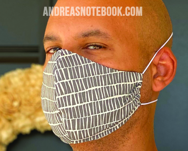 diy face mask pattern tutorial andreasnotebook
