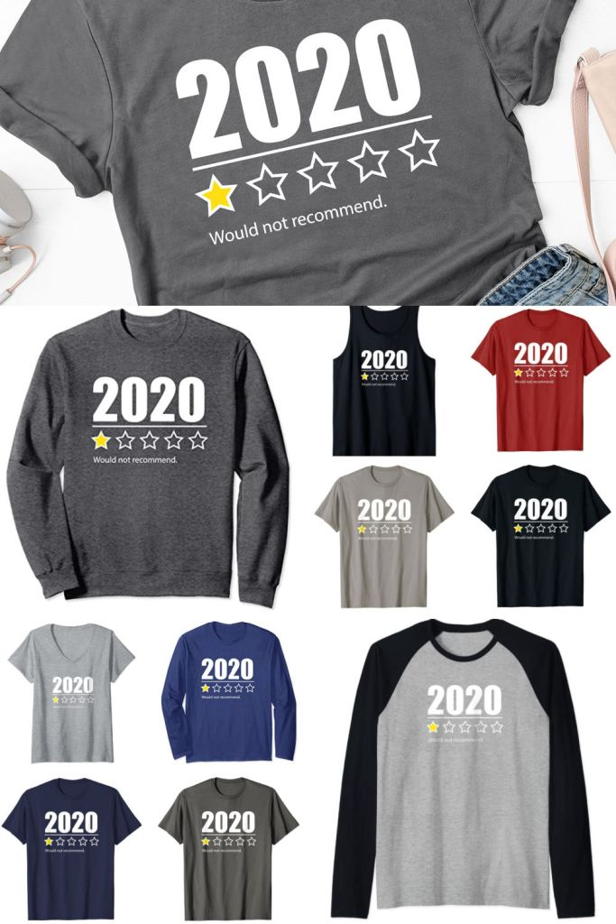 2020 Would Not Recommend One Star T-Shirt