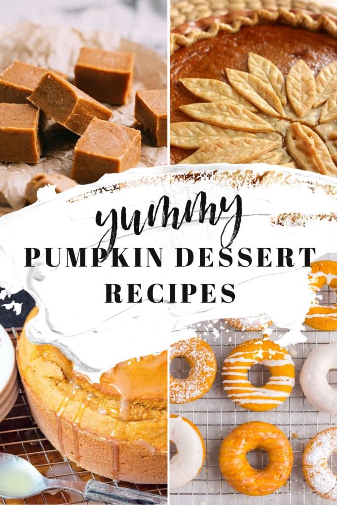 16 Pumpkin Dessert Recipes