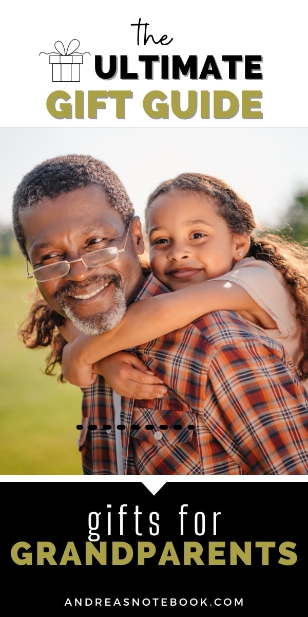granddaughter piggyback on grandpa