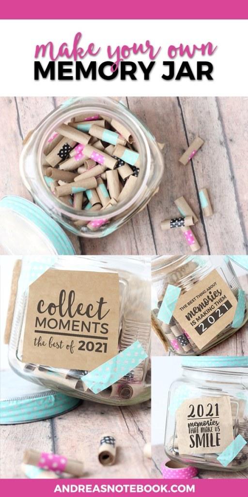 memory jar paper roll jar