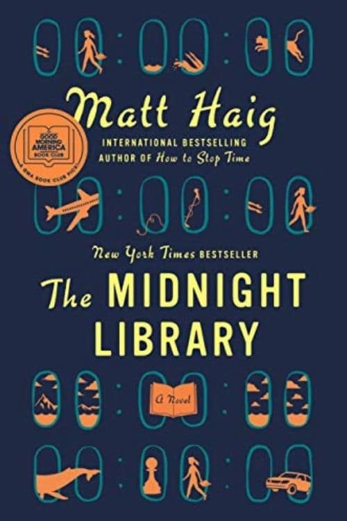 book cover of The Midnight Library by Matt Haig